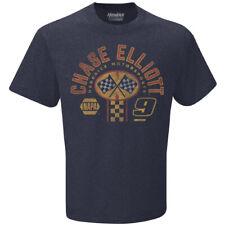 Men's Chase Elliott #9 Napa Racing Pit Stop T-Shirt, Gray