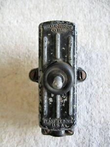 Vintage Walker Turner Machinery Switch- Working Condition
