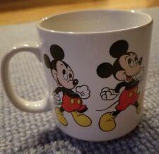 Disney Mickey In Motion Walking Mug Coffee Cup Korea