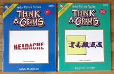 Lot 2 THINK A GRAMS Books B1 & B2 Evelyne Graham Critical Thinking Co Grades 7-8