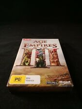 AGE OF EMPIRES III 3 COLLECTORS EDITION PC GAME BIG BOX 2005