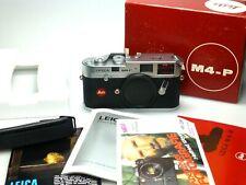 Leica M4-P Silber SERVICED / LIKE NEW