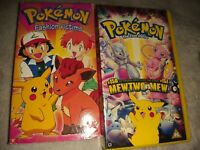 Vintage retro Pokemon Fashion Victims and pokemon the first movie  Vhs tape