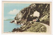 Railroad Train North Shore Lake Superior Canada postcard