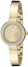 Movado Women's 3600322 'Bold' Diamond Gold-Tone Stainless Steel Watch