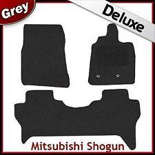 MITSUBISHI Shogun 2007 2008 2009 2010 2011 1300g di Lusso Su Misura Tappetini Auto Grigio
