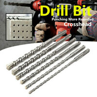6-16mm Electric Hammer Drill Bit Cross Head SDS Plus For Masonry Concrete Tool