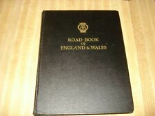 Awesome 1950 Vintage book - Road Book of England & Wales