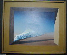 Originale künstlerische Malerein der Zeit 1950-1999 Surrealismus-Öl