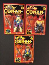CONAN THE ADVENTURER 3 Action Figures NINJA / SKULKUR / EXPLORER Sealed Hasbro