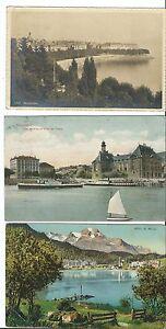 MAGMA AK SCHWEIZ lot 3st. neuchatel, st.moritz, hotel 1910 gute briefmarken !!!!