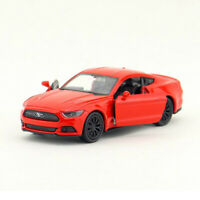 1/36 Ford Mustang GT 2015 Model Car Diecast Toy Vehicle Pull Back Kids Gift Red