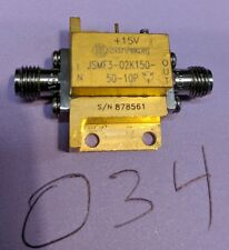Miteq Jsmf3 02k150 50 10p Amplifier 19 Ghz Lna Tested Guaranteed A34