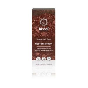 💚 Khadi Natural Medium Brown Hair Colour  100g