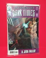 Dark Horse 2006 Star Wars DARK TIMES Comic Book Issue #4