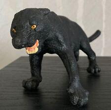 "Black Panther 9"" Figure Safari Animal Statue Figurine Jaugar 1998"