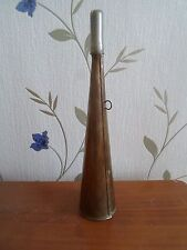 Brass Railway Shunting Horn - Retro Collectable - Prop - Display