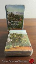 California Orange Grove and Mountains Playing Cards Cute Vintage Sealed