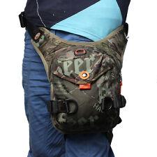 Men Nylon Drop Leg Bag Tactical Military Motorcycle Rider Belt Waist Fanny Pack