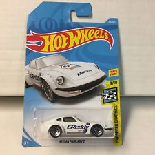 Nissan Fairlady Z #154 * WHITE * 2018 Hot Wheels International Case G