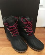 NWT J Crew Perfect Winter Arctic Tall Boot Navy Nubuck size 11  #H1891 Retail