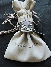 David Yurman R05609NSS 3 Side Wave Sterling Silver Mens 10 Ring $575 NWT