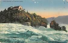 B106221 Switzerland Rheinfall mit Schloss Laufen