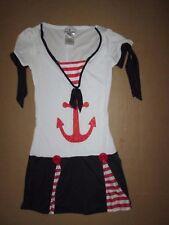 Womens SAILOR GIRL Halloween Costume S Sm Incharacter