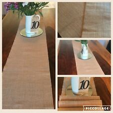 Hessian Table Runners, Fully Edged, Weddings, Parties, Proms