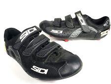 Sidi Carbon Mountain Road Bike Shoes EUR 45 /US Men 10.5 Women 11 Black MTB