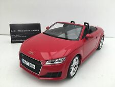 "Minichamps 1:18 DEALER EDITION AUDI TT ROADSTER ""TANGO"" RED 5011400525 VERY RARE"