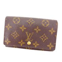 Louis Vuitton Wallet Purse Monogram Brown Woman Authentic Used A1268