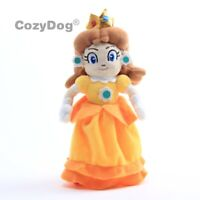 Super Mario Bros Mario Princess Daisy Plush Doll Figure Soft Toy 8 inch Gift