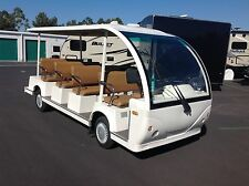 nice luxury limousine people mover 11 passenger shuttle bus limo golf cart car