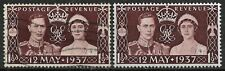 1937 GREAT BRITAIN Set of 2 Used/Unused Stamps (Scott # 234)