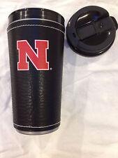 University of Nebraska Insulated Hot Beverage Travel Mug for Coffee Tea etc