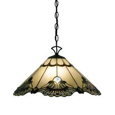 Tiffany Style Lamp Hanging Ceiling Pendant Light Chandelier Stained Art Glass