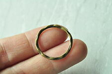 20pcs Antique Bronze Round Ring Circle Connector 24mm Punk Necklace Craft Supply