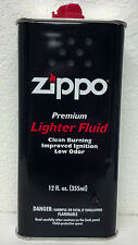 ZIPPO, LIGHTER FUEL, CLEAN BURNING, FAST IGNITION, LOW ODOR, 12 oz. Can