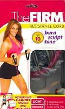 THE FIRM RESISTANCE CORD light & Fat Burning Cardio Toning DVD KIT 05-51693 NEW