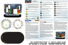 JUSTICE LEAGUE T002 Teen Titans DC HeroClix SUPERMAN 066 BATMAN 067 WONDER W 068