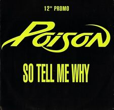 "POISON so tell me why 12 CLDJ 640 promo uk capitol 12"" PS EX/EX"