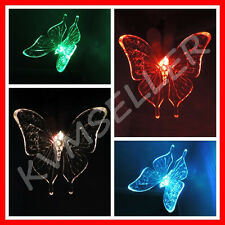 1-Piece Solar Powered Butterfly Garden Yard Stake Pathway Lawn Light LED Sun i