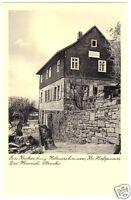 """AK, Helmarshausen Kr. Hofgeismar, Gasthaus """"Zur Kruckenburg"""", um 1955"""