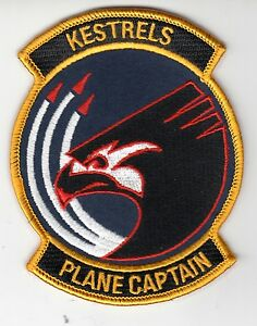 VFA-137 KESTRELS PLANE CAPTAIN PATCH