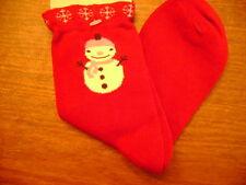 NWT Gymboree Alpine Sweetie snow man lady socks 8 up