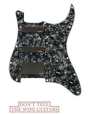 EMG SL20 Steve Lukather SLV + SLV + 85 Black Pickup Set Black Pearl Pickguard