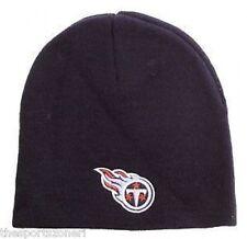 Tennessee Titans Black Cuffless Knit Hat