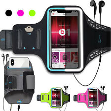 Armband Case Gym Running Exercises Workouts Phone Arm Band with Key/Card Holder