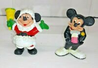 2 COLLECTIBLE DISNEY MICKEY MOUSE TOYS FIGURINES BY APPLAUSE